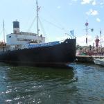 The icebreaker Sankt Erik