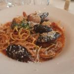 Red Seafood Spaghetti