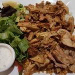 Classic Chicken Gyro - Sooo good!