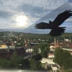 Utsikt fra toppen bar på Mølla hotell