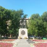 Monument to Pushkin and Dal