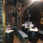 La taverna al piano inferiore