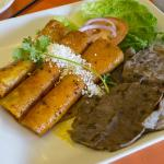 Enchiladas with Cecina