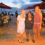 Barefoot Beach Cafe - staff member; Kenye