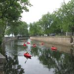 Lachine Canal beside the Museum