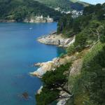 Coastline near Kingswear looking back towards Dartmouth