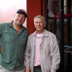 My friend, Gary, with Don Luis