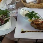Delicious rump steak - very good value for money!