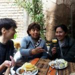 El curso de cocina de marleni angulo : ceviche de truche, que rico!