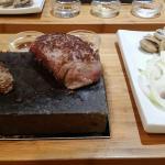 Amazing steak beautiful place
