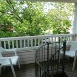 Cute balcony outside our room