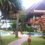 Restaurant et piscine