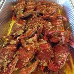 LA. Boiling Seafood Crab & Crawfish Foto