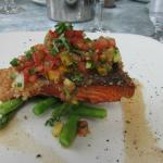 Crispy Wild Sockeye Salmon