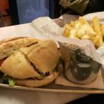 Hamburguesa de vaca gallega con queso de Arzúa