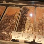 Italian cookies, baklava,