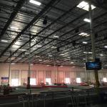 Warehouse indoor track