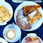 The wonderful italian breakfast- please note that italian breakfast is on the sweeter side ;)