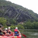 white water rafting near Harper's Ferry