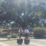 We had so much fun on the Segway, and it could not have been possible without our tour guide Tim