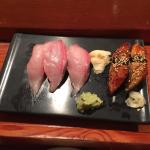 The best sushi at a local spot.