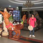 Inside Hotel lobby