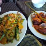 Pinakbet and Binagoongan Liempo
