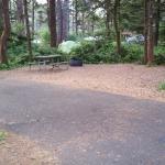 Very tiny campsite.
