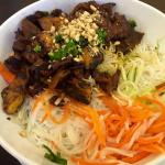 Grilled Combination Platter with Vermicelli