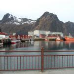 Port avec ville