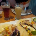 Fish tacos, beer tasters, yam fries