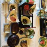 Near kaiseki experience ( served in 3 courses in stead of 7) plus kids meal set :)