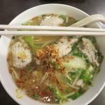 Fish ball noodle soup (other version of fish ball)