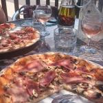 Lovely location, staff and pizzas