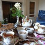 Delightful afternoon tea at Cheskin House