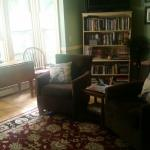 Inside the white cedar Inn