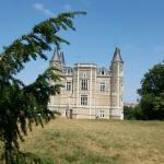 Face arrière du château de la Morinière