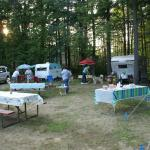 Group camping at Twin Tamarack