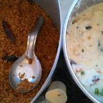 Puliyogare & Curd rice
