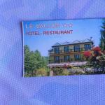 CARTE DE VISITE AVEC VUE SUR L'HOTEL
