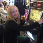 Slots and a beer..what better mix?