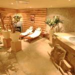 Sauna en bubbelbad