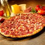 Abby's Chicken + Country Bacon + Canadian Bacon Pizza