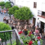 view from the balcony of Hostal Marques de Zahara