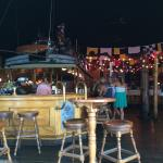 Great location, the bar has nice high ceilings which helps keep it cool in the summer. It has a