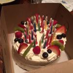 Tres Leche birthday cake! 🎉🎂