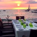 Tropical Sunsets at La Palapa