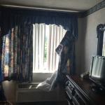 Broken curtain rod/blinds