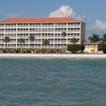 Pointe South Condominium View From Gulf of Mexico