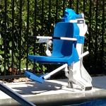 Chair to assist Disabled persons into pool. AWESOME